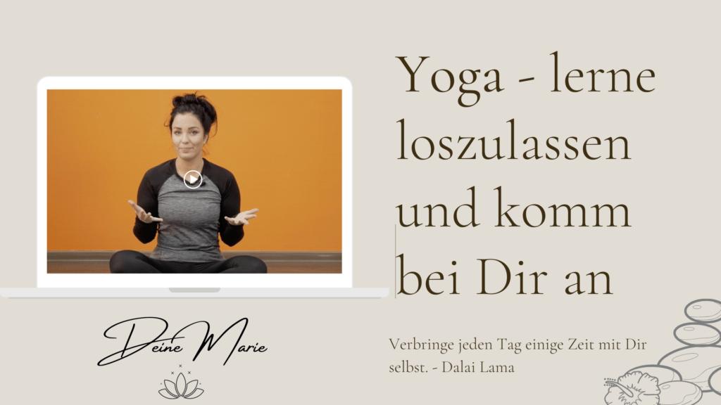 Yoga mit Marie im online Kurs